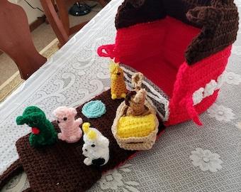 Crochet Travel Barn