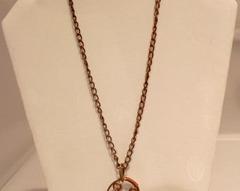 Copper Bird Necklace
