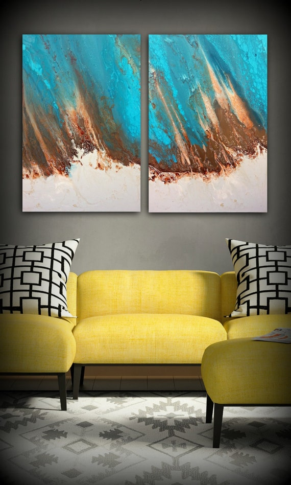 Art Painting Abstract Painting Acrylic Painting XL / Extra