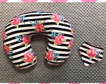 Boppy Cover & Bandana Bib Gift Set