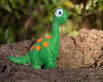 A Little Felt Brontosaurus