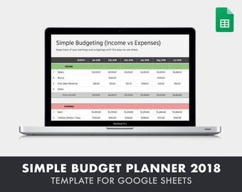 budget tool etsy