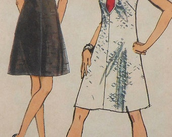 Dress Sewing Pattern Simplicity 8734 Size 10