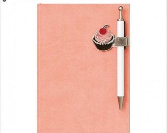 Cherry Cupcake Jessie Steele Metal Penholder Mark's (JS-MPH1-A)
