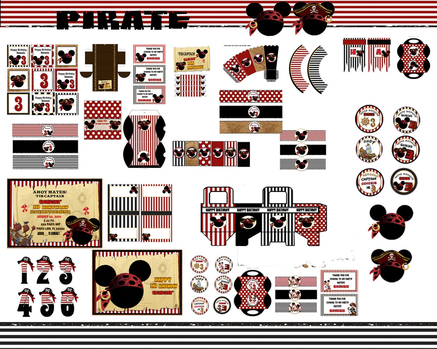 Mickey Mouse party Mickey Mouse Pirate party Pirate Party