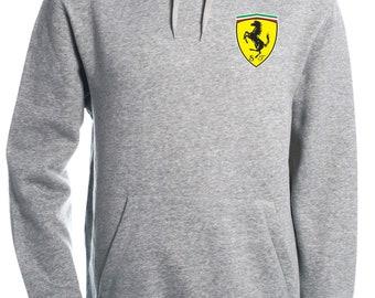 Ferrari Hooded Sweatshirt Hoodie F1 Motorsport Supercars Sizes S-2XL M1.1