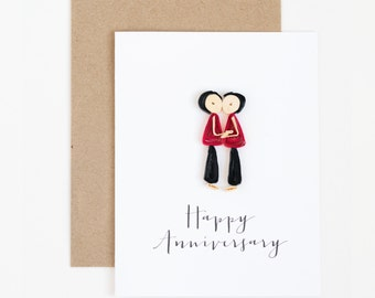 Gay Cards   Same Sex Greeting Cards   Gay Anniversary Cards   Happy  Anniversary Gay Couple