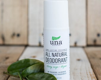 All Natural Deodorant Roll-On