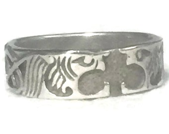 Dragon Ring Size 6 Plus Dragon Band Size 6 Celtic Ring Size 6  Celtic Knot Ring Size 6 Celtic Knot Band Size 6 Irish Band Size 6 Irish Ring