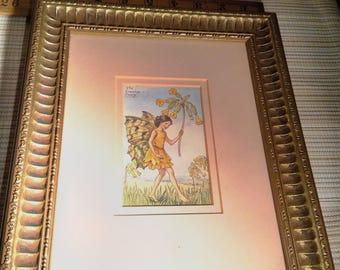 Framed Flower Fairy Print