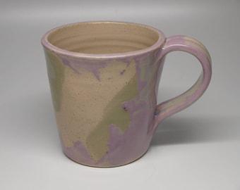 Plum Leaf Imprint Mug