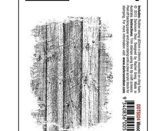 Woodgrain, Unmounted Rubber Stamp This Wood Plank, Stamp Will Create A  Wonderful Woodgrain Look