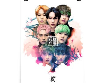 BTS Bangtan Boys In the Mood For Love pt 2 Poster