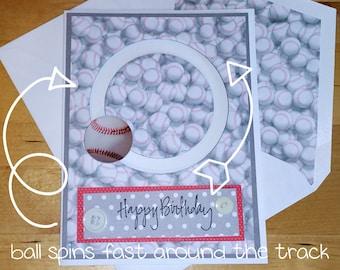 Sports, Spinner, Birthday, BDay, Baskball, 3-D, 3D, Card, Teen, Boy, Girl, Ball, Moving, Interactive, Sport, Athletics