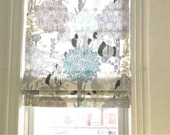 Custom Made Roman Shade/ Flat Roman Shade/Window Treatment