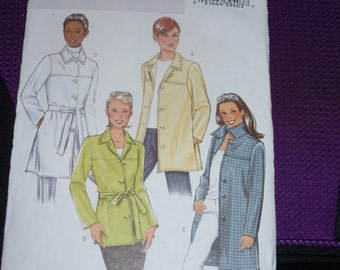 Butterick 4463 Misses Jacket and Belt Fitted Fast Easy   New - Uncut