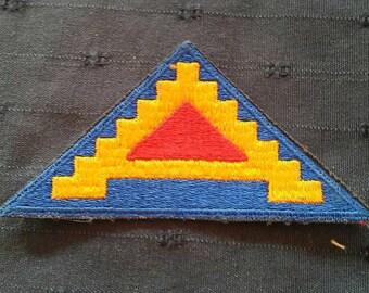 Cloth badge US 7th Army