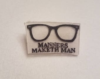 Kingsman inspired pin