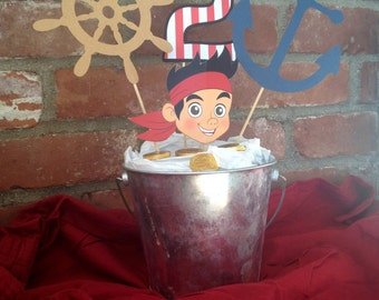 Jake and the Neverland Pirates Birthday Party Centerpiece