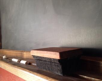 Chalk Eraser - Felt Eraser - Wood Framed Chalkboard - Kitchen Chalkboard - Menu Chalkboard - Tall Chalkboard - Chalkboard With Ledge