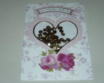 A Valentine Hello Shaker Card