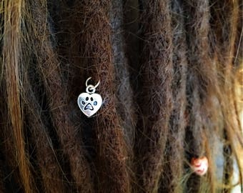 I love my dog dread Pendant
