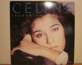 VINTAGE MUSIC ALBUM, Celine Dion, Incognito, Collectible Vinyl, Record Music,  Souvenir album, Celine Dion, Gift ideas