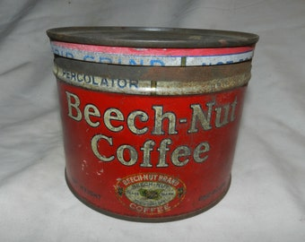 Beech-Nut coffee Tin Can                                            32-51