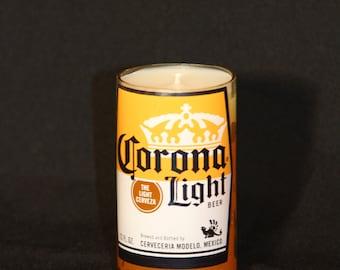 Corona Beer Candle