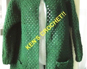 All About Eve- Sweater/Duster-PDF Pattern Only-Digital Download