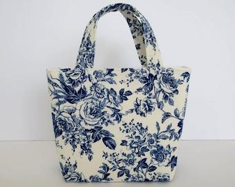 Girl's Bag, Mini Tote Bag, Kids Bag, Handbag for Girls, Pretty Girl's Bag, Little Girls Gift, Girls Floral Bag, Flower Girl Accesso