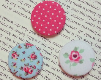 Cath Kidston Fabric Buttons (Set of Three)