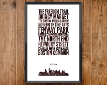 Boston City Print