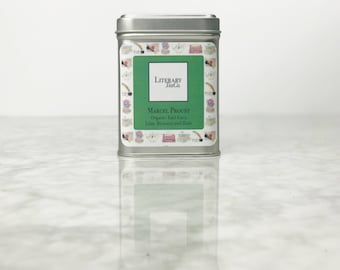 Marcel Proust Tea - Loose Leaf Tea.. The perfect Literary gift, Mothers Day Gift for Tea Lover, Book Lover or Bibliophile! Earl Grey