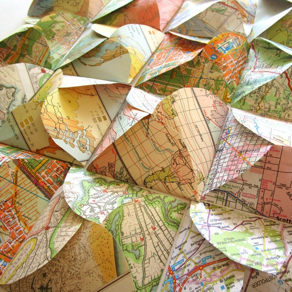 Set of 20 world map envelopes