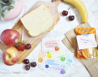 Fruity Lunch Box Notes
