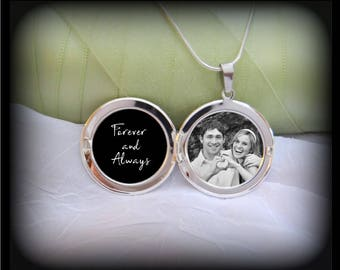 Forever and Always Locket