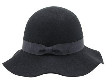 Alpas Wool Felt Cloche Style Ladies Winter Felt Hat - YY-038