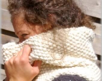 Col tout doux en laine et alpaga