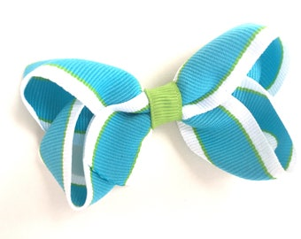 Girls hair bow - hair bow, hair bows, bows, hair bows for girls, baby bows, toddler bows, boutique bows, girls bows, hair clips, hairbows