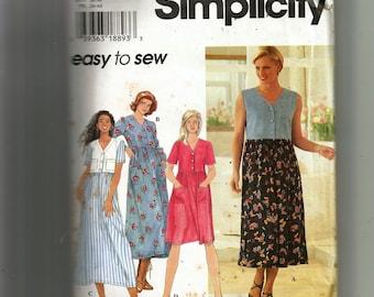 Simplicity Misses' Dress Pattern 7124