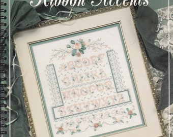 Ribbon Accents by Stoney Creek Collection Cross Stitch and Ribbon Leaflet