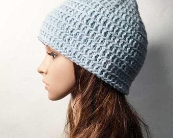 Crochet PATTERN - ANNA HAT - Crochet Hat Pattern - Beanie Hat Pattern
