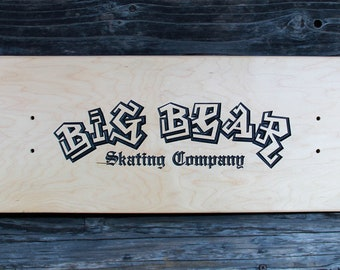 Personalized Skateboard Deck -  CNC Routed Custom Engraved Deck