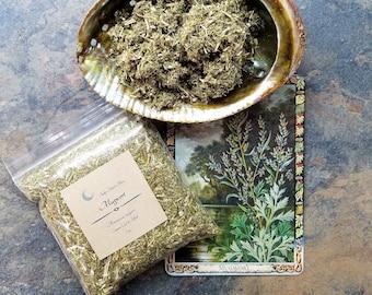 Loose Mugwort, Mugwort Smudge, Organic Mugwort, Cronewort Smudge, Mugwort Tea, Dream Smudge, Sacred Plant Smoke, Ritual Smudge, Loose Herb