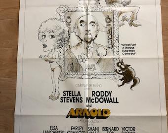 Arnold vintage movie poster