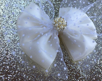 """6"""" Diamond Bow (French Suit Collection)"""