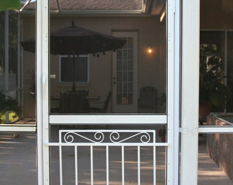 Screen Door Grille, Cottage Collection, Decorative, Protective, Mini Garden  Gate Style, Aluminum, Custom Sizes Available
