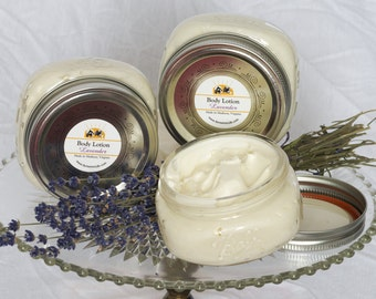 Body Lotion - Lavender Lotion, Whipped Body Lotion, Vegan body lotion