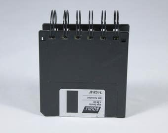 3.5 inch Floppy Disk Notebook
